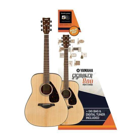 Yamaha FG800 GIGMAKER Acoustic Guitar Pack Gloss
