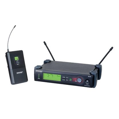 Shure Wireless Body Pack System SLX1 & SLX4  572-596MHz