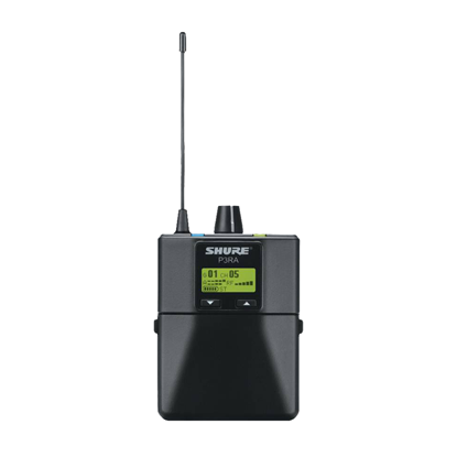 Shure P3RA PSM300 Professional Wireless Bodypack (J10: 584-608 MHz) - Front
