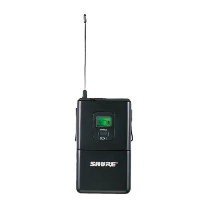 Shure SLX1 Wireless Mic Bodypack Transmitter (L4: 638-662MHz)