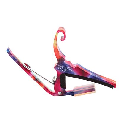 Kyser KG6 Guitar Capo - Tie Dye