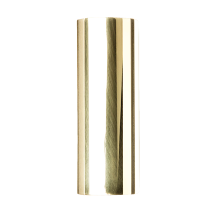 Jim Dunlop 222 Medium Wall Brass Slide for Guitar - Medium