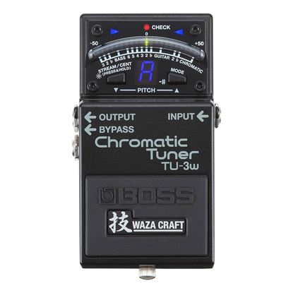 BOSS TU-3W Chromatic Tuner Guitar Pedal (TU3W)