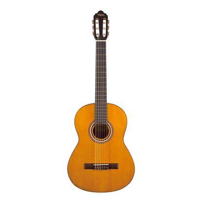 Valencia 200 Series Full Size Classical Guitar in Natural - Front