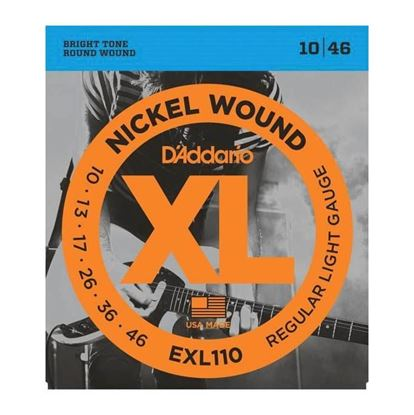 D'Addario EXL110 Electric Guitar Strings 10-46 Regular Light