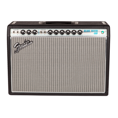 Fender '68 Custom Deluxe Reverb Combo Guitar Amplifier