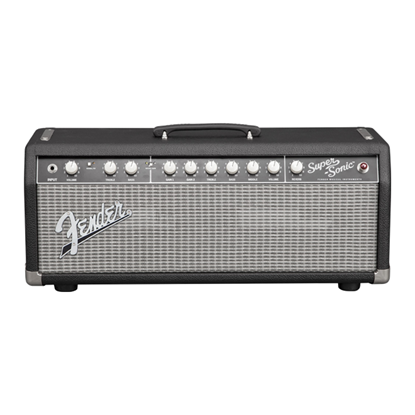 Fender Super-Sonic 22 Tube Guitar Amp Head Black - 22 Watts