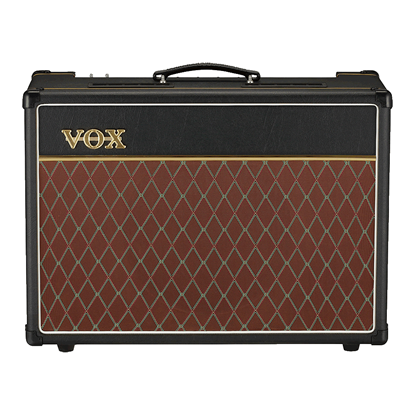 Vox AC15 Hand-Wired with G12C Speaker Combo Guitar Amp - 15 Watts/12inch - Front