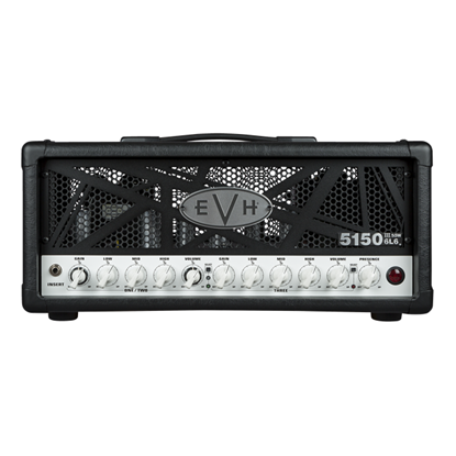 EVH 5150III 50w 6L6 Guitar Amplifier Head - Black - Front