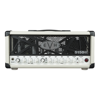 EVH 5150III 50w 6L6 Guitar Amplifier Head - Ivory - Front