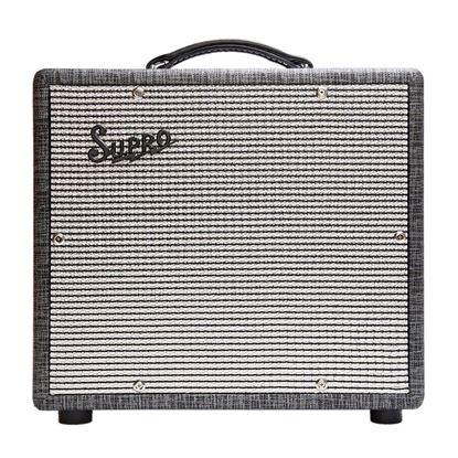 Supro 1600 Supreme 25 Watt Combo Guitar Amplifier - 1x10 Inch Speaker