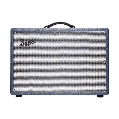 Supro 1624T Dual-Tone 24 Watt Combo Guitar Amplifier - 1x12 Inch Speaker