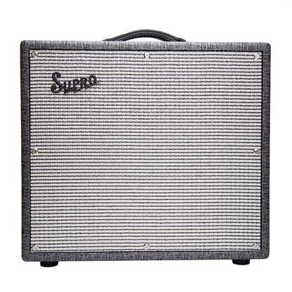 Supro 1695T Black Magick 25 Watt Combo Guitar Amplifier - 1x12 Inch Speaker
