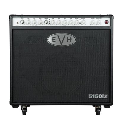 EVH 5150III 1x12 50w 6L6 Guitar Amplifier Combo - Black - Front