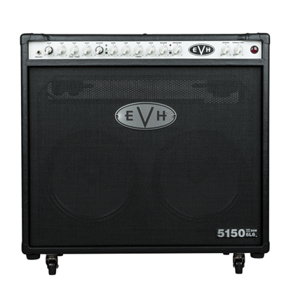 EVH 5150III 2x12 50w 6L6 Guitar Amplifier Combo - Black - Front
