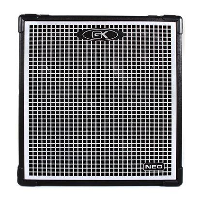 Gallien Krueger NEO 410 Bass Amp Speaker Cabinet - 4x10 Inch Speakers