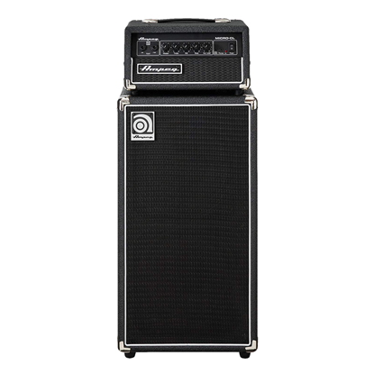 Ampeg Micro-Classic Stack Bass Head and Cabinet - 100 Watt - Front
