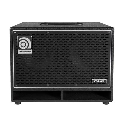 "Ampeg PN-210HLF 2 x 10"" 550W RMS Neodymium Speaker Cabinet - Front"