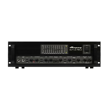 Ampeg SVT-4PRO 1200W Tube Preamp Bass Amplifier Head - Front