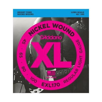 D'Addario EXL170 Bass Guitar Strings 45-100 Light Guage Long Scale
