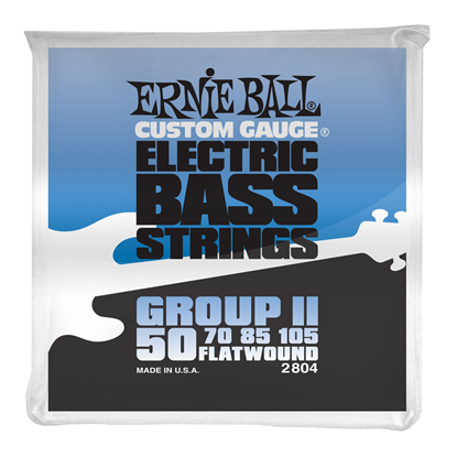 Ernie Ball 2804 Flatwound Group II Electric Bass Strings