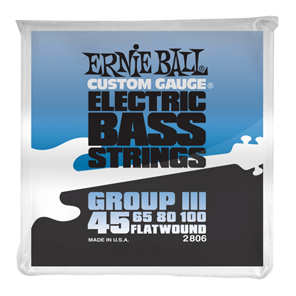 Ernie Ball 2806 Flatwound Group III Electric Bass Strings