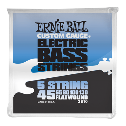 Ernie Ball 2810 Flatwound 5-string Electric Bass Strings