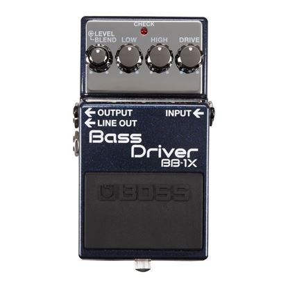 Boss BB-1X Bass Driver Bass Effects Pedal