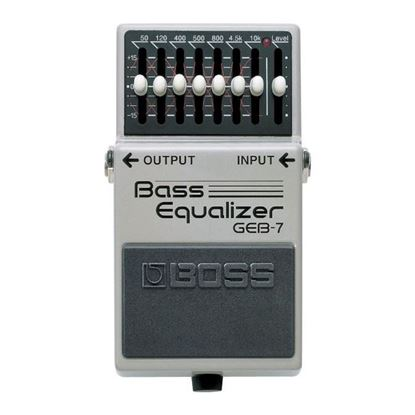 Boss GEB-7 Bass Equalizer Bass Effects Pedal