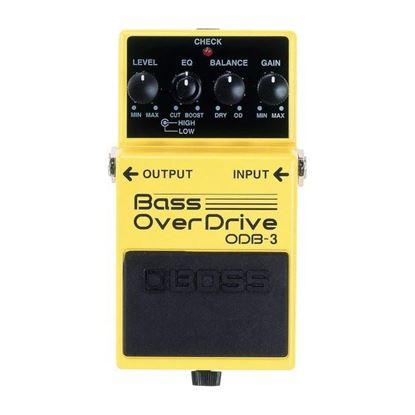 Boss ODB-3 Bass Overdrive Bass Effects Pedal