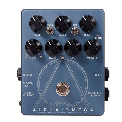 Darkglass Alpha Omega Bass Preamp Pedal