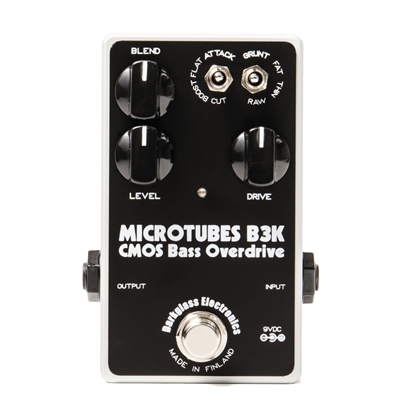 Darkglass Microtubes B3K CMOS Bass Overdrive Effects Pedal