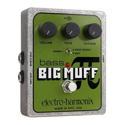 Electro Harmonix EHX Bass Big Muff Guitar Guitar Effects Pedal
