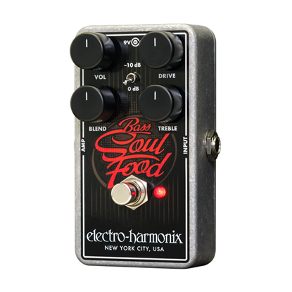 Electro Harmonix EHX Bass Soul Food Guitar Effects Pedal