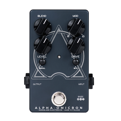 Darkglass Alpha Omicron Bass Guitar Preamp Effects Pedal