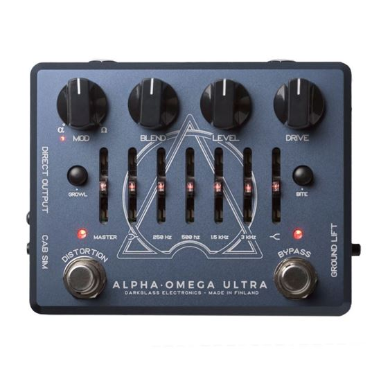 Darkglass AOU Alpha Omega Ultra Bass Guitar Preamplifier