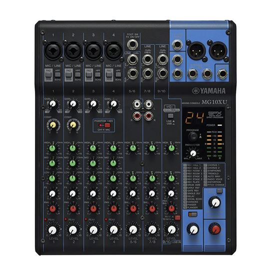 Yamaha MG10XU 10-Channel Mixing Console (SPX Effects & USB)