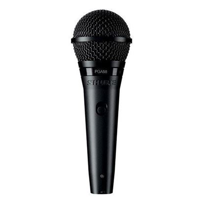Shure PGA58 XLR Cardioid Dynamic Vocal Microphone with XLR Cable