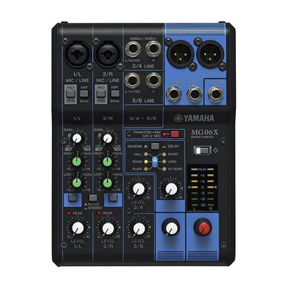Yamaha MG06X 6-Channel Mixing Console (SPX Effects)