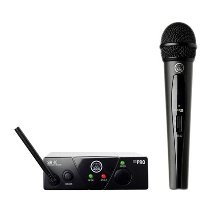 AKG WMS40 Mini Single Vocal Set Wireless Microphone (Band A)