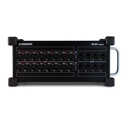 Allen & Heath AB-168 Portable AudioRack 16 XLR Input 8 XLR Output (AB168)