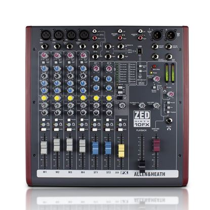 Allen & Heath Zed60-10FX Mixing Desk