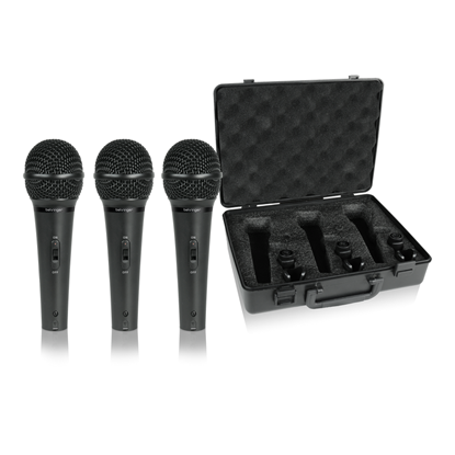 Behringer XM1800S Microphone 3 Pack