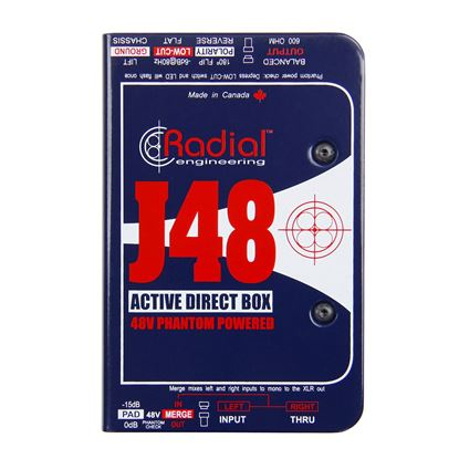Radial J48 1 Channel Active 48v Direct Box