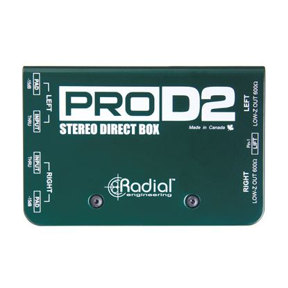 Radial ProD2 2 Channel Passive Instrument Direct Box
