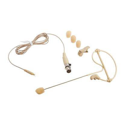 Samson SE10 Earset Microphone with Miniature Condenser Capsule (Tan with P3 Connector)