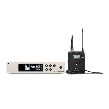Sennheiser EW 100 G4-ME4 Evolution G4 Wireless Lavalier Microphone Set - Choose Frequency (EW100G4ME4)