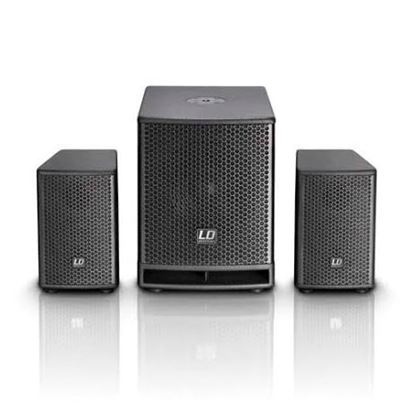 LD Systems Dave 10G3 10 Inch Split PA System -700W
