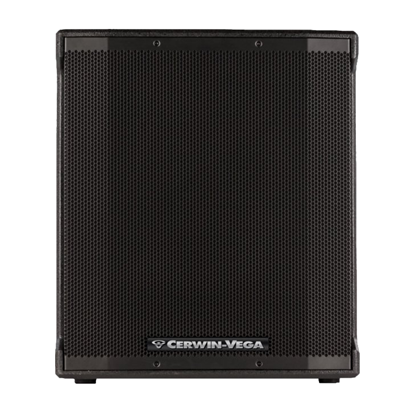 Cerwin Vega CVE-18S 18 inch Powered Subwoofer - 1000 watts - Front