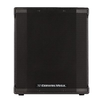 Cerwin Vega CVE-18S 18 inch Powered Subwoofer - 1000 watts - Front